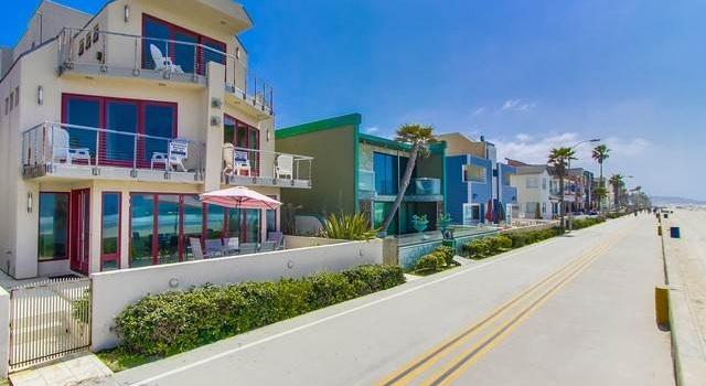 San Diego Meerblick Pur Promenade